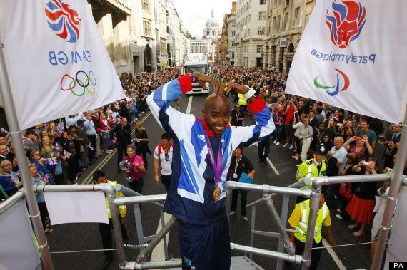 Mo Farah - Athlete's Parade