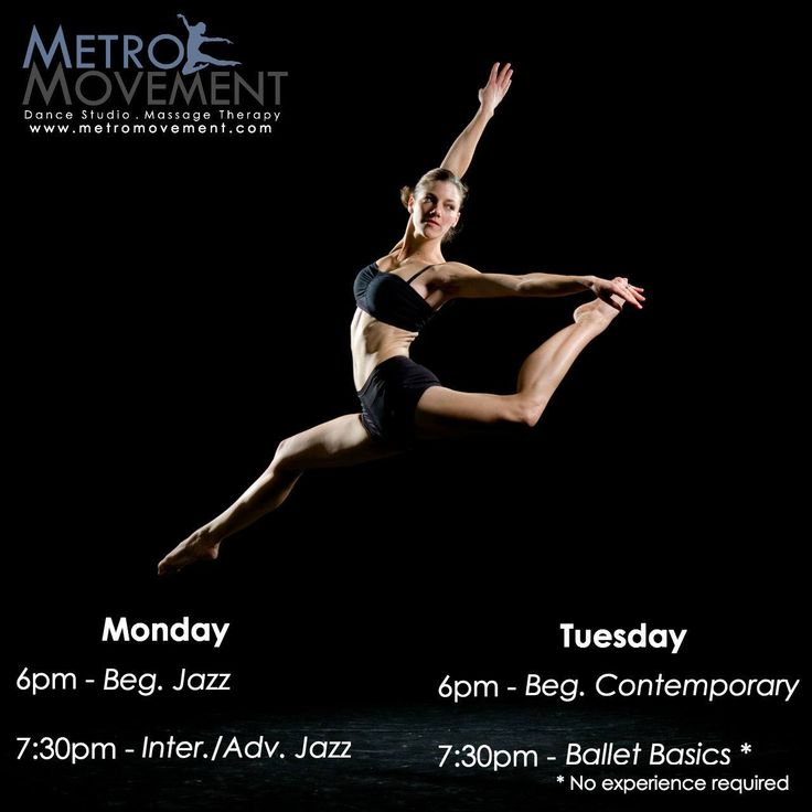 Metro Movement Dance Studio and Massage Therapy: A Home for the Dancer in You. Click the picture to read more! #dance #fitness