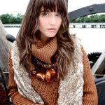 Alice + Olivia Fall Boho Clothing Collection featuring it girl of the season Alaia Baldwin