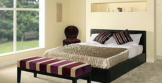 More4Homes THE MADRID BROWN 4FT 6IN DOUBLE FAUX LEATHER OTTOMAN STORAGE BED w GAS LIFT BASE No description (Barcode EAN = 0741360496453). http://www.comparestoreprices.co.uk/bed-frames/more4homes-the-madrid-brown-4ft-6in-double-faux-leather-ottoman-storage-bed-w-gas-lift-base.asp