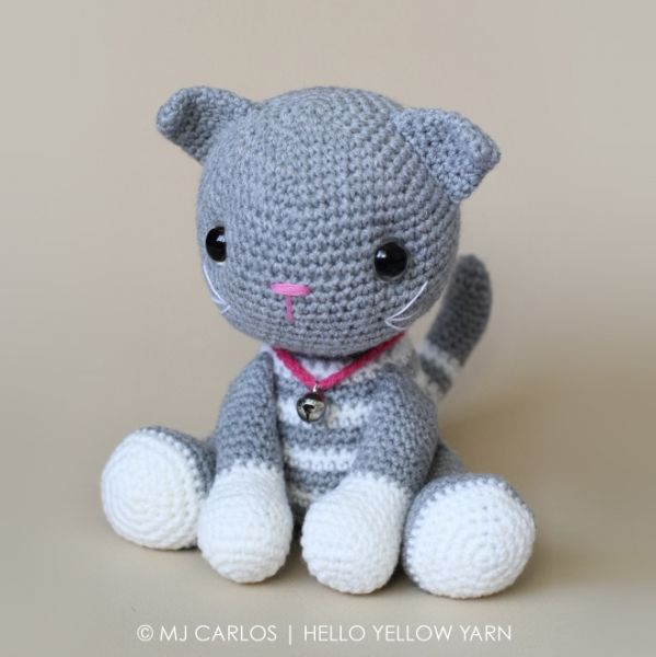 Amigurumi Tabby Cat : 290 migliori immagini amigurumi cats su Pinterest