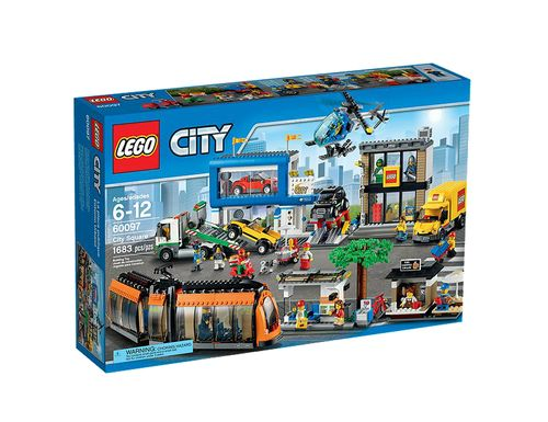 Create your own bustling town centre with LEGO City Square 60097 and enjoy an awesome day at the busy City Square! It's buzzing with activity at the City Square!