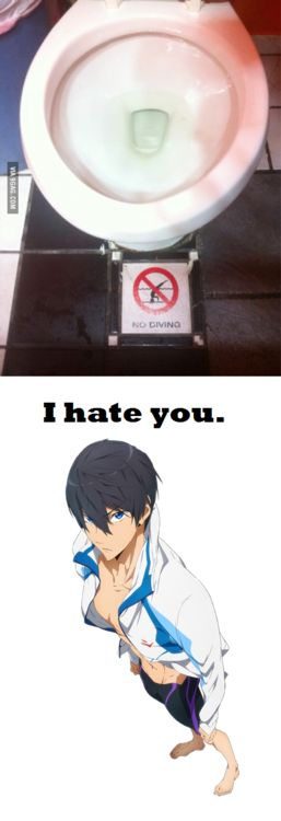 Free! Iwatobi Swim Club  Sorry Haru! No diving here!