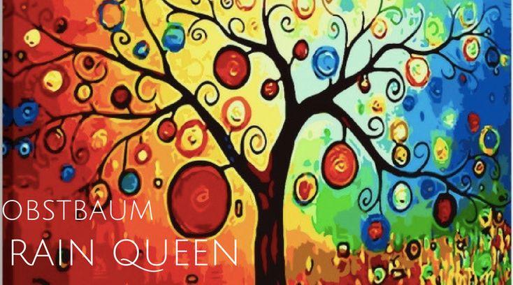 der Kunstdruck Obstbaum ist einer der beliebtesten Kunstdrucke zum Thema Natur. Die Darstellung ist abstrakt und sehr vielfarbig. Es gibt einen fröhlichen Effekt.