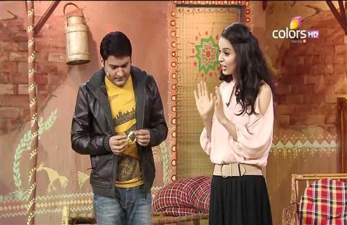 Kangana Ranaut in Hindi TV Serial Comedy Nights with Kapil