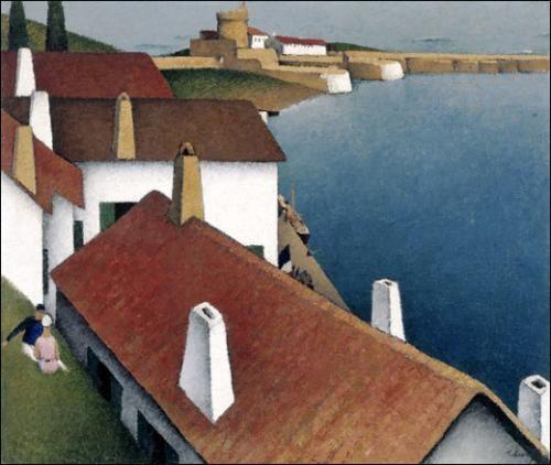 Tobeen : Le fort près de Saint-Jean-de-Luz - 1912