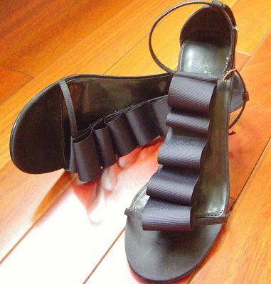 Hope Studios: Tutorial Tuesday - Shoe Make-over