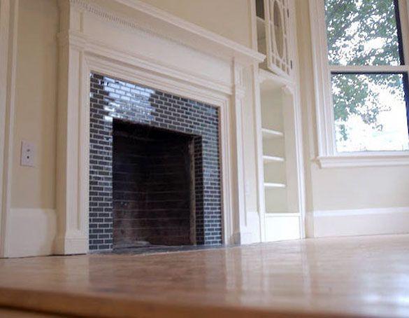 Glazed Tile Fireplace   Google Search