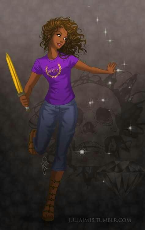 Great Female heroins: Hazel Levesque daughter of Pluto. amazing cavalry fighter, a great friend, she came back from the dead after sacrificing herself for her mother. The heroes of olympus