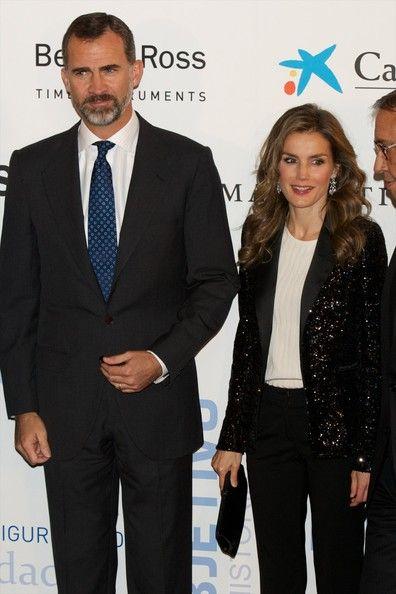 Princess Letizia - 'La Razon' Newspaper 15th Anniversary Party...Princess Letizia of Spain attends AEEPP 2013 Awards at the Casa de la Moneda on October 30, 2013 in Madrid, Spain.