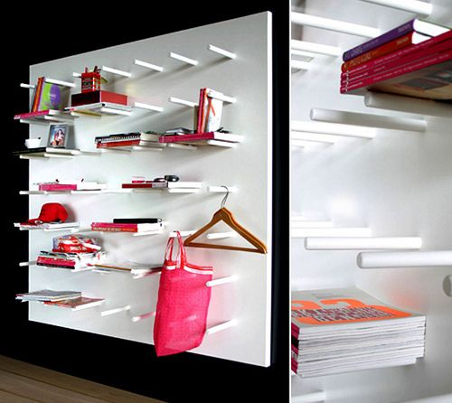 White Bookcase Inspired By Chinese Laundry Culture, Kwan  STUDIO DITTE
