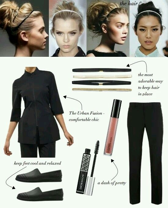 Outfit beautician