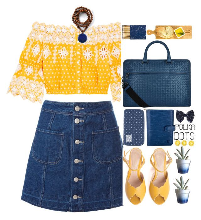 """""""2314"""" by mykatty091 ❤ liked on Polyvore featuring Sans Souci, Miguelina, Herschel Supply Co., SPECIAL DAY, Bottega Veneta, Dot & Bo, Lazuli, Louis Vuitton, Jayson Home and Cathy's Concepts"""
