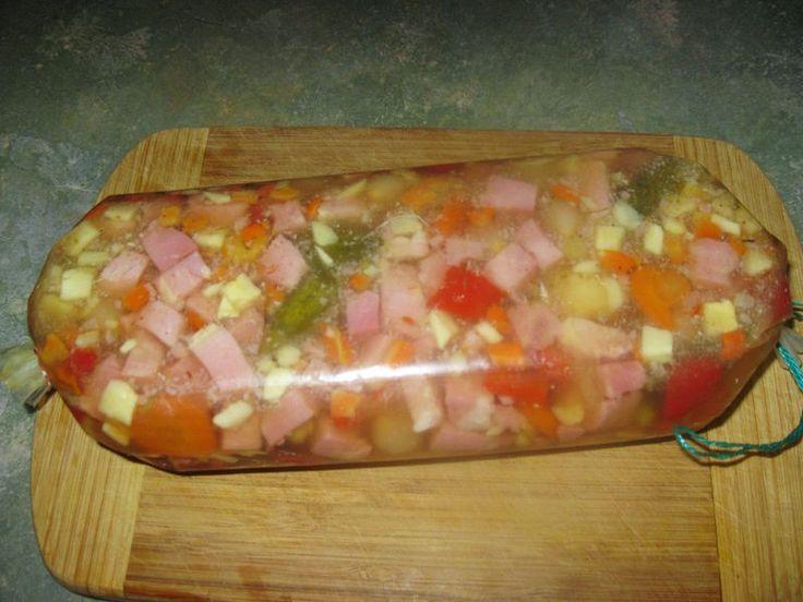 Kochschinken-Mixed Pickles Sülze (Rezept mit Bild)   Chefkoch.de