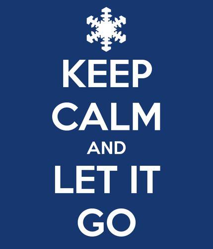 Frozen - disney-frozen Photo  Keep calm and let it go.