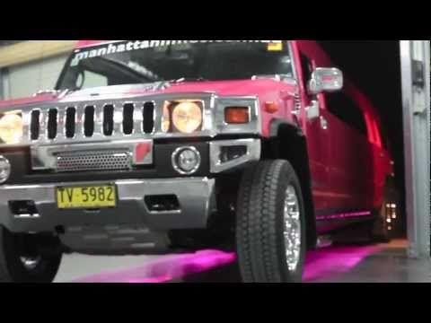 Pink Super Stretch Hummer 20 Seater