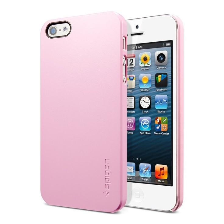 SPIGEN SGP iPhone 5 Case Ultra Thin Air Sherbet Pink