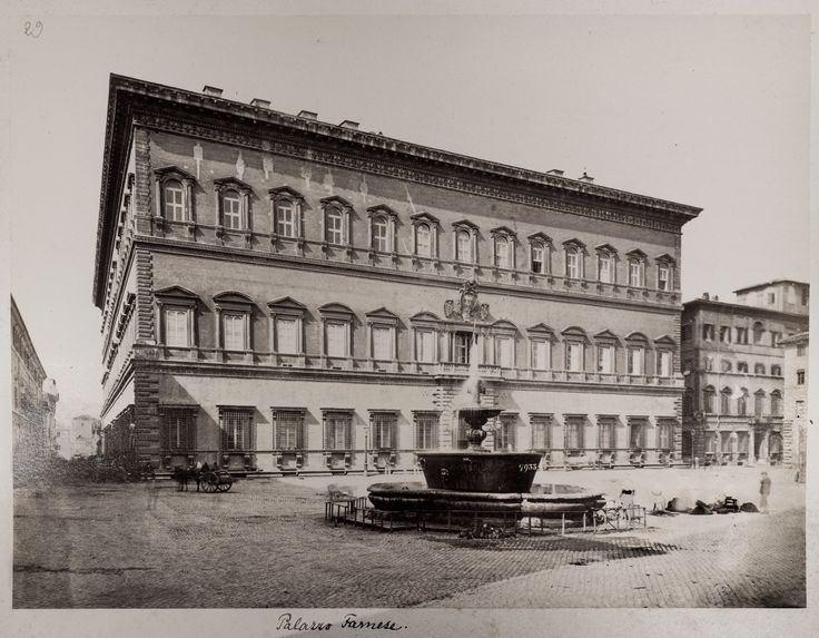 Piazza Farnese - 1870