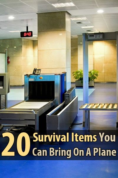 20 survival items you can bring on a plane survival shtf and toilet sink. Black Bedroom Furniture Sets. Home Design Ideas