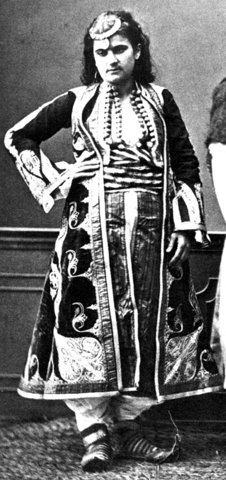 Festive Muslim Costume From Prizren Kosovo Late Ottoman
