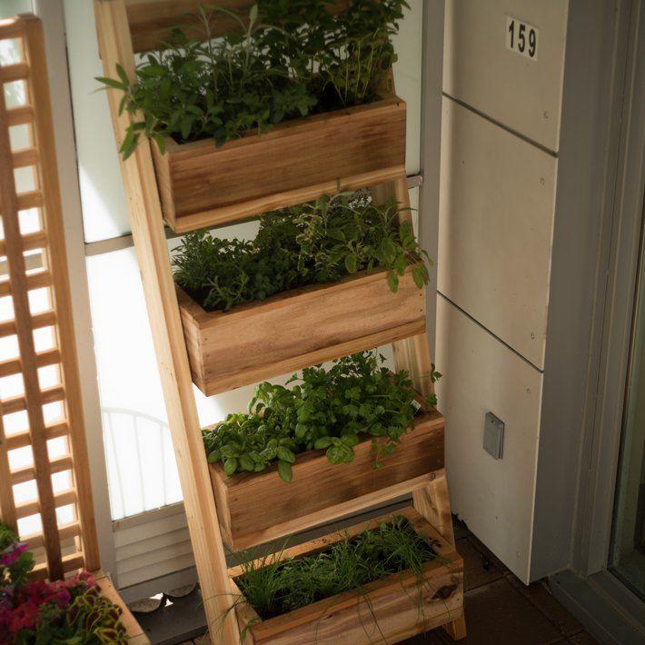 Vertical Garden Planters, Diy Vertical Herb Garden Planter Box