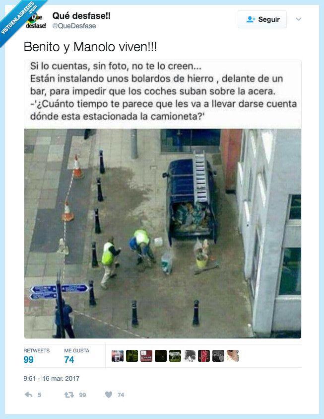VEF > Visto en las Redes > Manolo y Benito son los obreros del año comparado con esta panda de ineptos...