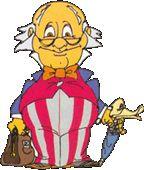 Dr. Snuggles' Umbrella/Pogo Stick/Talking Duck's Head