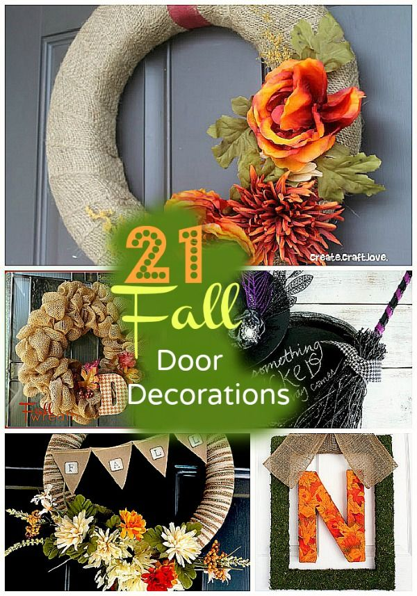 21 fall wreaths