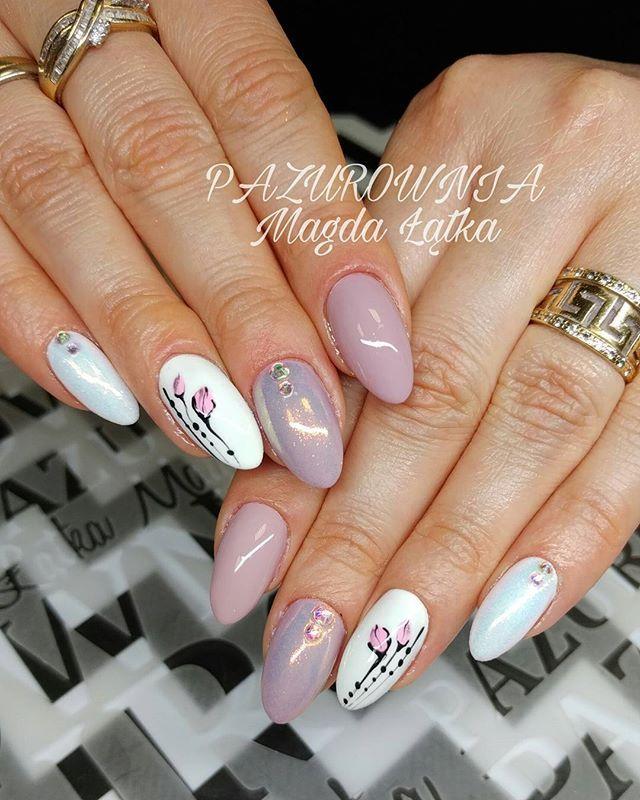 Pin by Gosiagosia on ABA GROUP NAILS   Nail polish, Nails