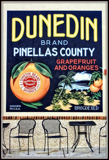 Dunedin, Florida - best freshly squeezed orange juice in the world!