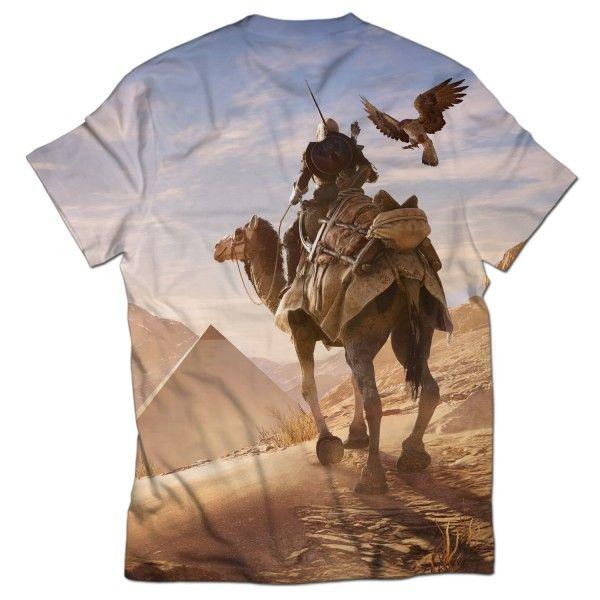 ASSASSINS CREED ORIGINS ALL OVER PRINTED T-SHIRT Visit: http://www.thewarehouse.pk/assassins-creed-origins-all-over-printed-t-shirt-14510