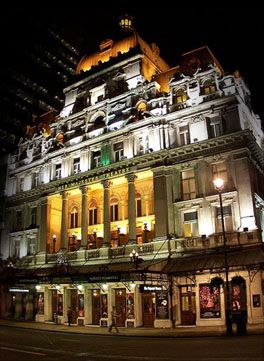 Her Majesty's Theatre, London, England. This is where I saw the original production of The Phantom of the Opera!