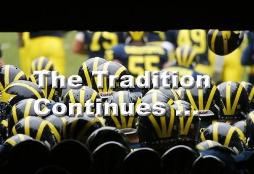 Michigan football <3