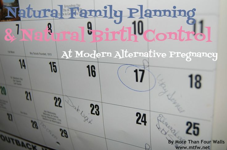 21 Best Images About Natural Family Planning Methods On