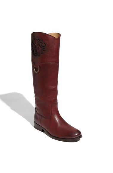 Love this Frye logo boot