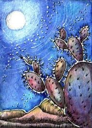 Prickly Pear Moon