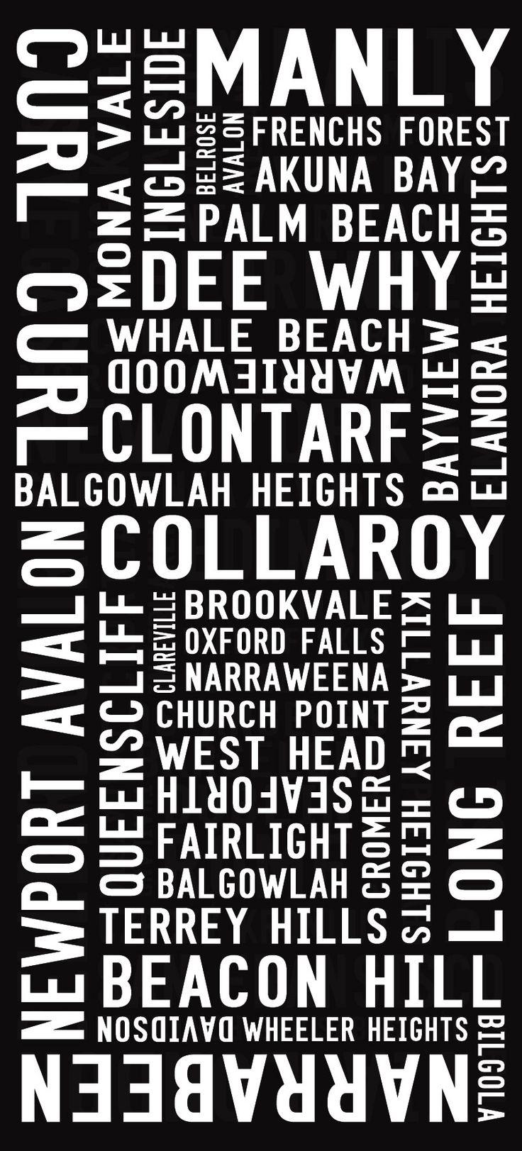 Sydney tram scrolls - Our current location