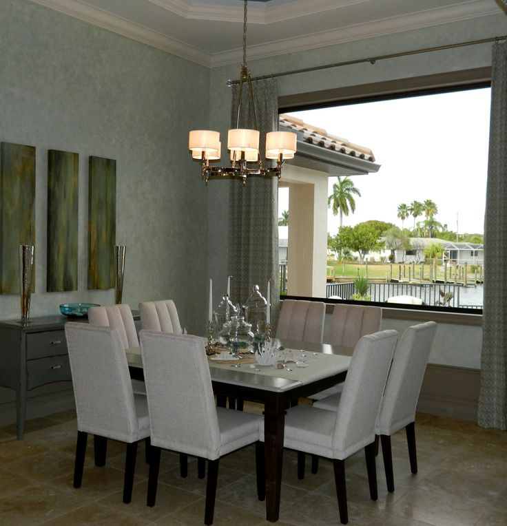 Dining Room With A Great View Perfect Decor And Maxim Lighting Fairmont Chandelier To