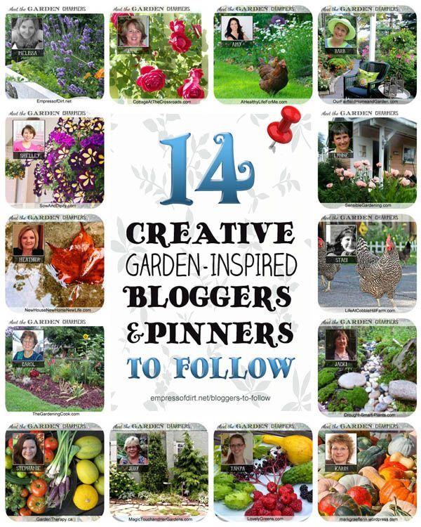 14 Creative Garden-Inspired Bloggers and Pinners to Follow