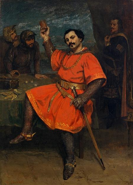 Gustave Courbet, Actor Louis Gueymard as Robert le Diable, 1857
