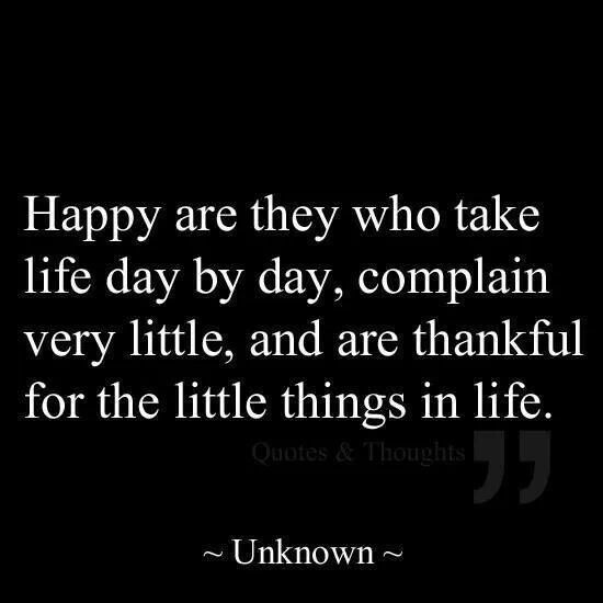 happy are they....