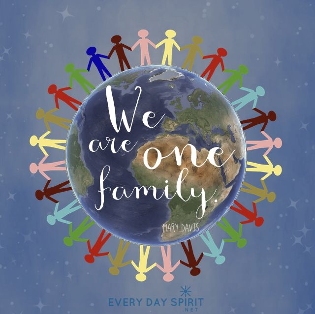 Peace One Day Quotes: One Peace. One Love. One Family. #unity #peace For The App