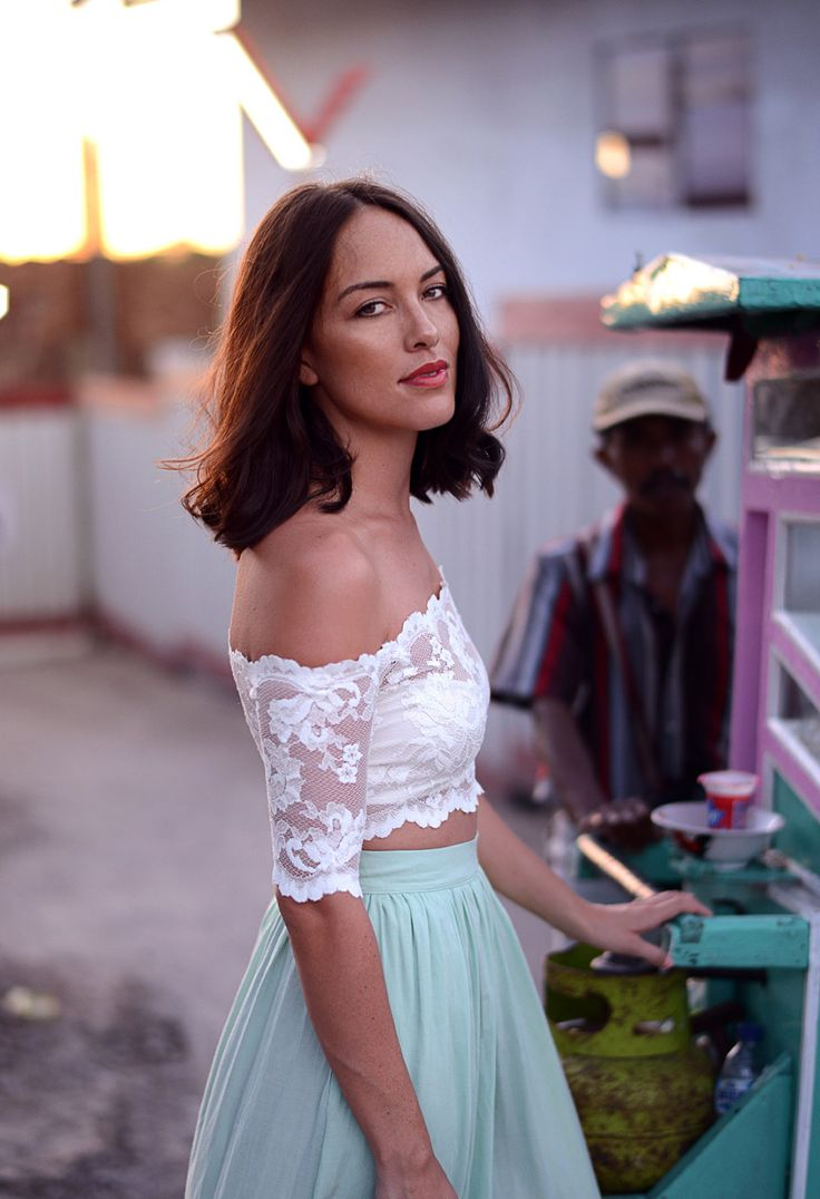 EVERYDAY Crop top (white) ‹ Grace Loves Lace