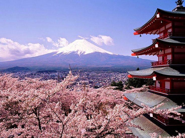 Flores de cerejeira, Japão – Conhecida popularmente como Sakura, esta flor é símbolo do país. Seu significado é tão intenso, que o povo a respeita como a própria bandeira ou o hino nacional. Impossível visitar o Japão sem conhecer esse ícone tão forte