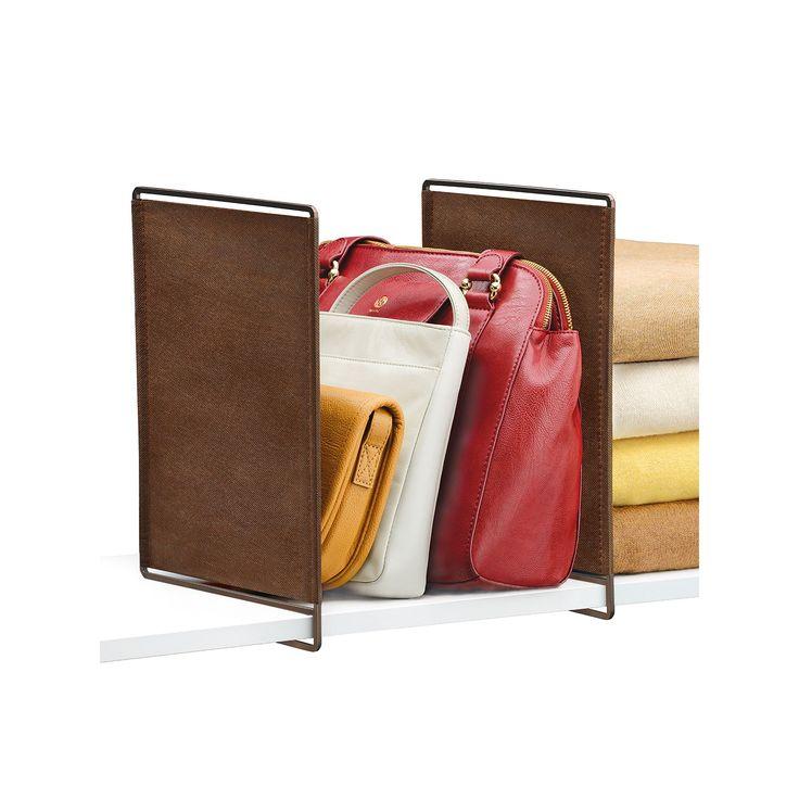 Lynk Vela 4-pk. Shelf Dividers, Brown
