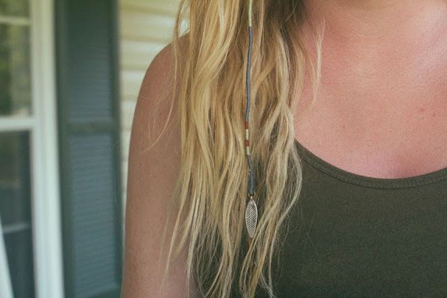 Hair wrap. Wonder if I could manage to do this...