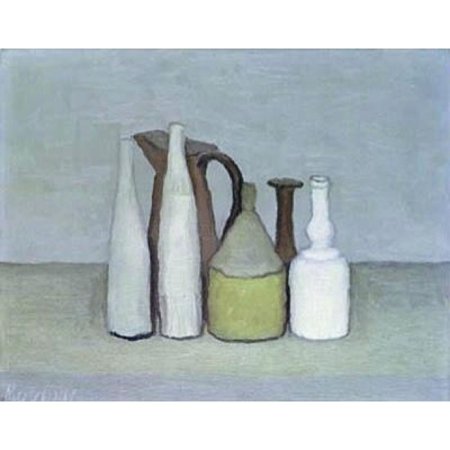 morandi! endless inspiration for our pottery collection. new & vintage.