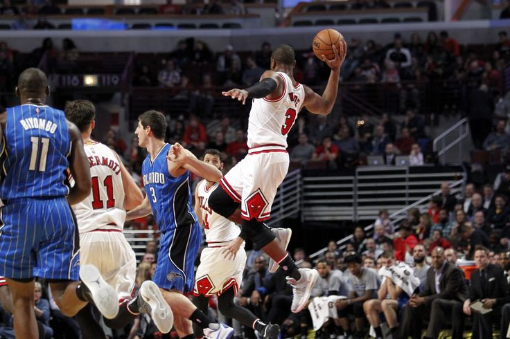 Dwyane Wades excellent passing is a pleasant surprise and a crucial part of the Bulls offense