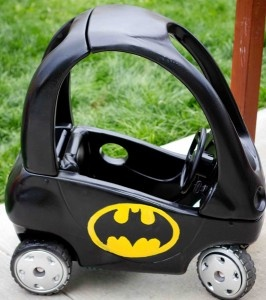 Make a Batman Cozy Coupe | TheWHOot
