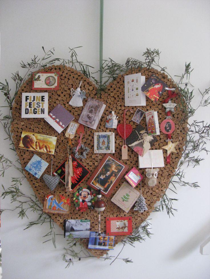 kurk hart christmas heart prikbord www.quiltstudiolaren.com